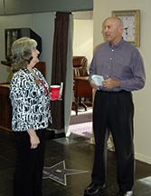 Karen with Richard Sotiros od Sotiros & Sotiros, CPAs.