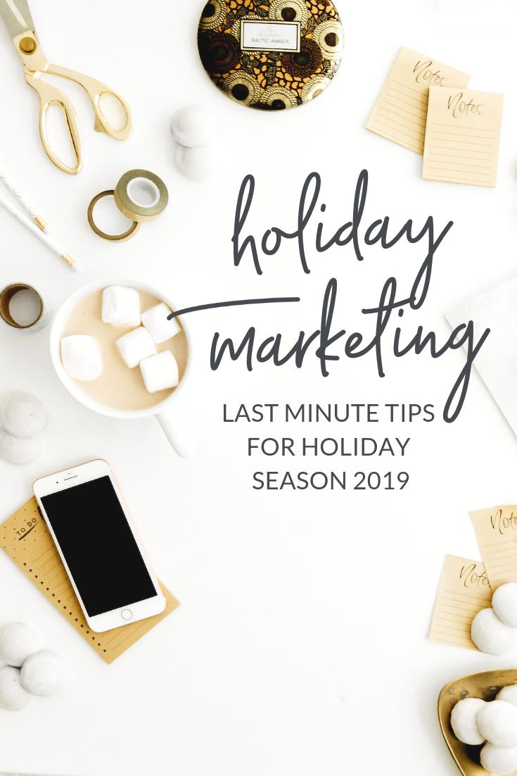 2019 holiday marketing