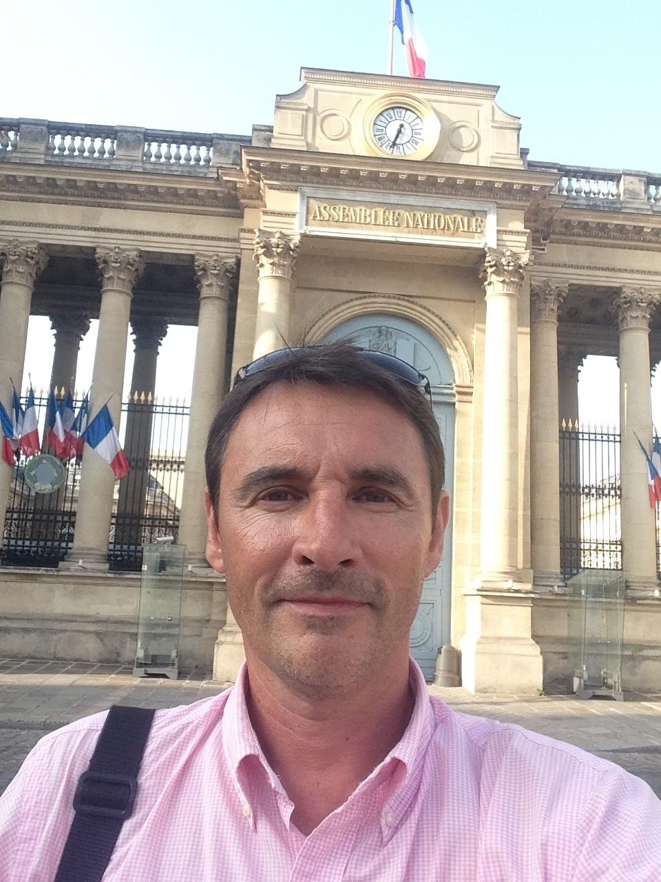 François Lacombe, collaborateur chargé des relations presse