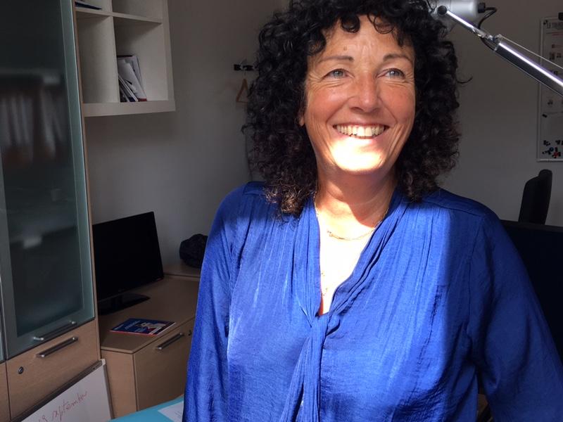 Isabelle Sotto, collaboratrice chargée des relations en circonscription