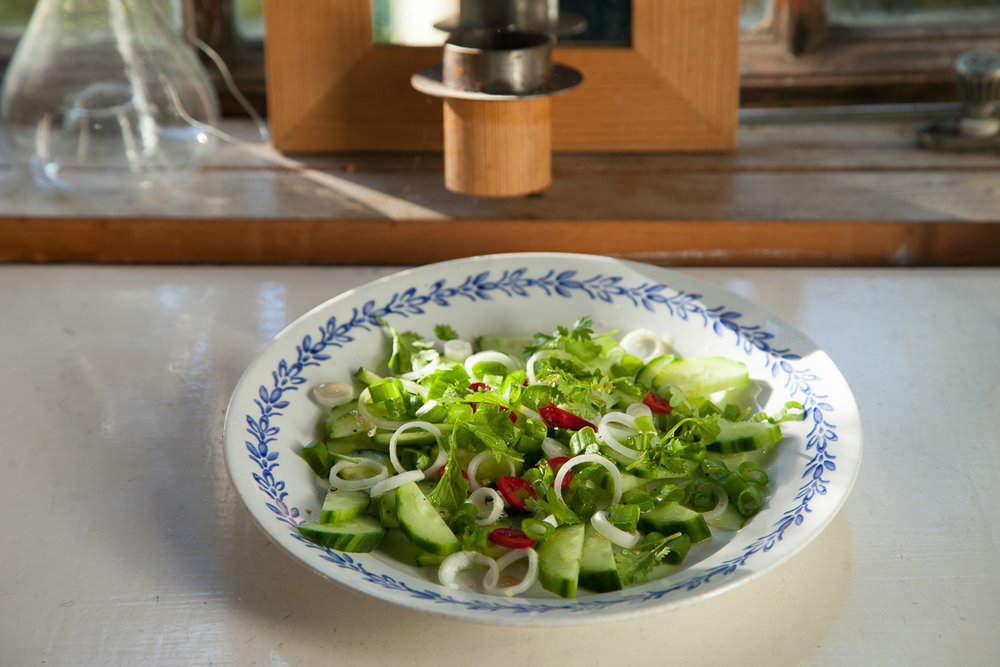 salaatti kesäruokaa ruokablogi