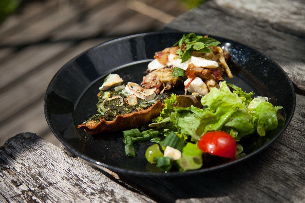 vuohenputki-juustopiiras ruokablogi
