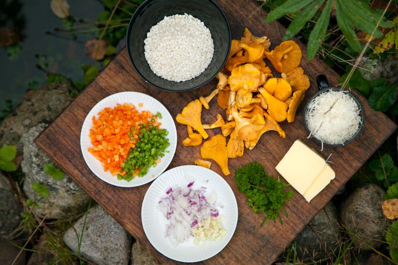 risotto-0053.jpg kanttarelli ruokablogi