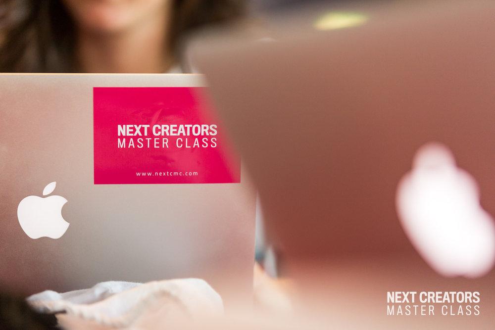 Next Creators Master Class 2017