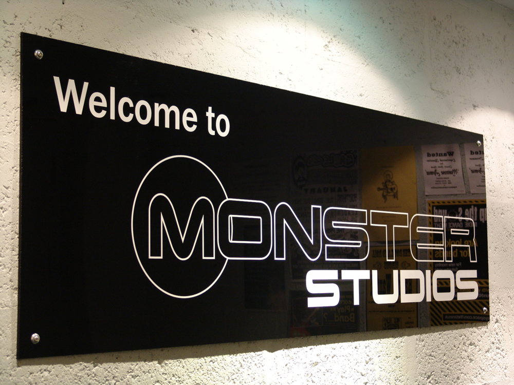 Welcome to Monster Studios - We have tried to create the perfect rehearsal environment to give you the best chance to be creative in a clean, relaxed, well ventilated atmosphere but with a competitive pricing structure