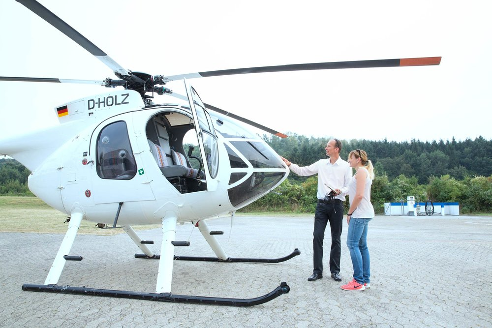 Private helicopter pilots -