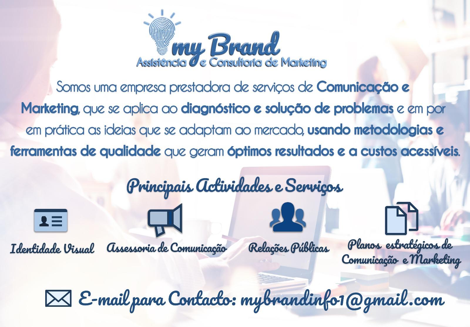 Endereço de E-mail:  mybrandinfo@gmail.com   Telefone:  +244940511144