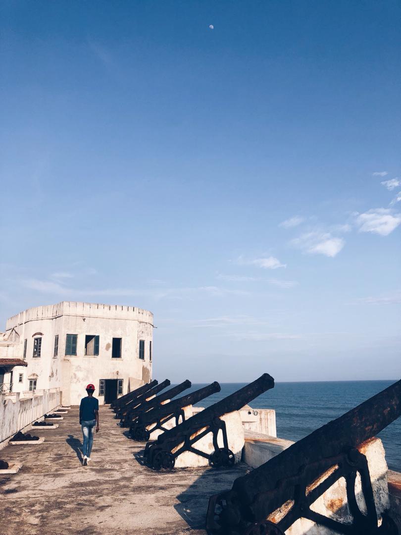 A walk through the Cape Coast Castle, Central Region