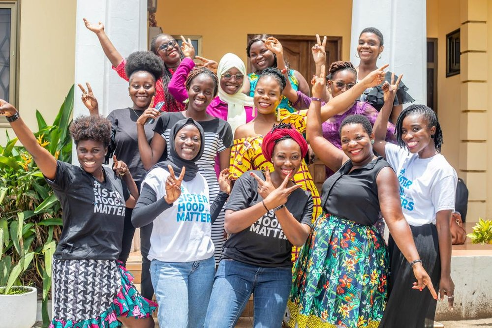 Say hi to the Sisterhood crew! Photo Credit : AfrikOfNature Studios