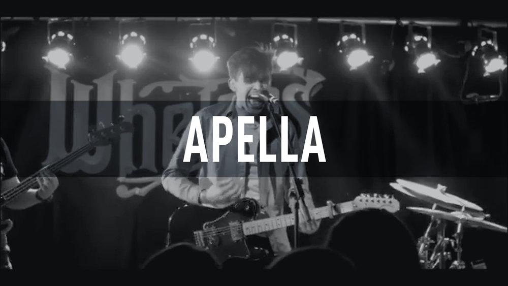 Apella // Whelans 2017