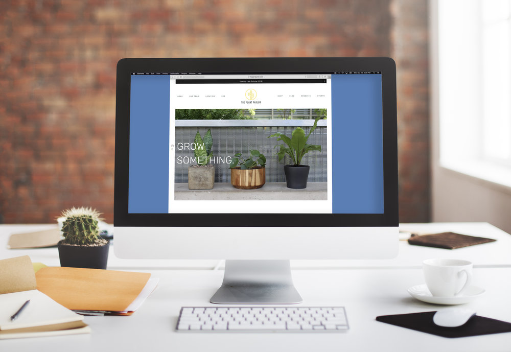 Website  The Plant Parlor