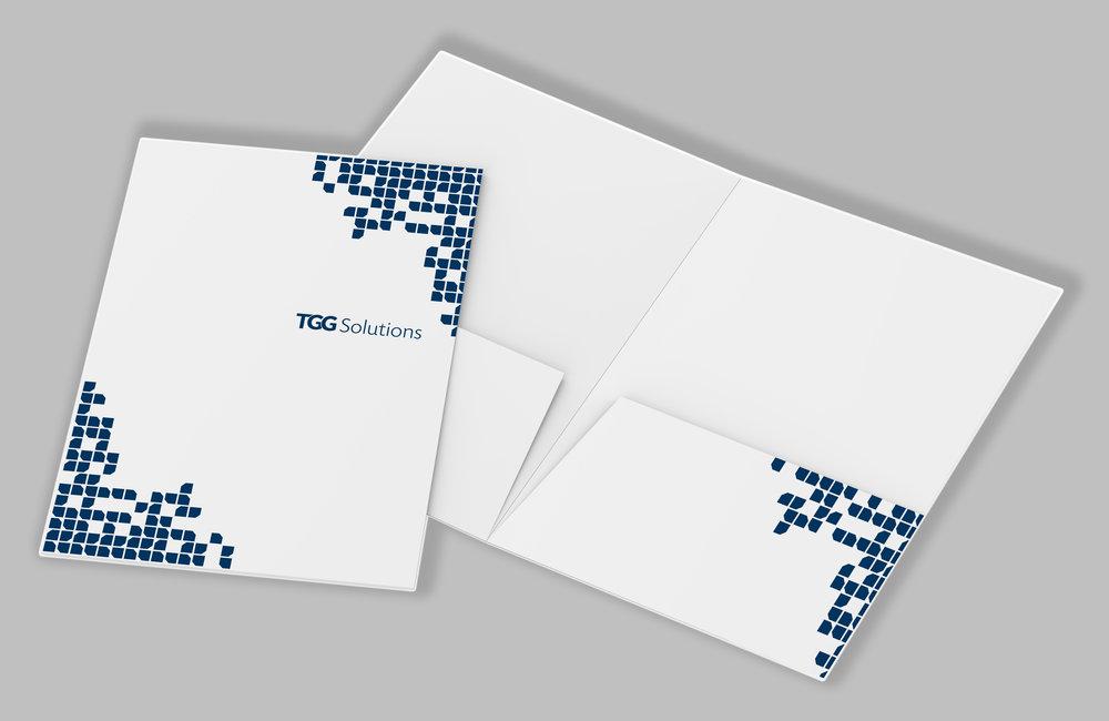 Branded Folder  TGG Solutions