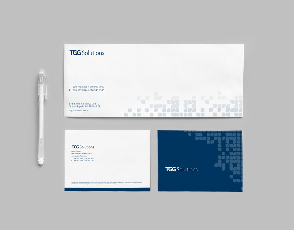 Branded Note Cards  TGG Solutions