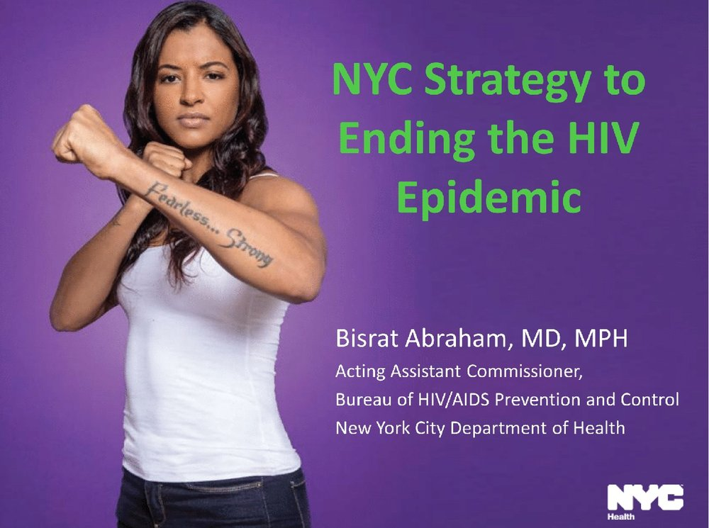 NYC's strategy to end the HIV epidemic