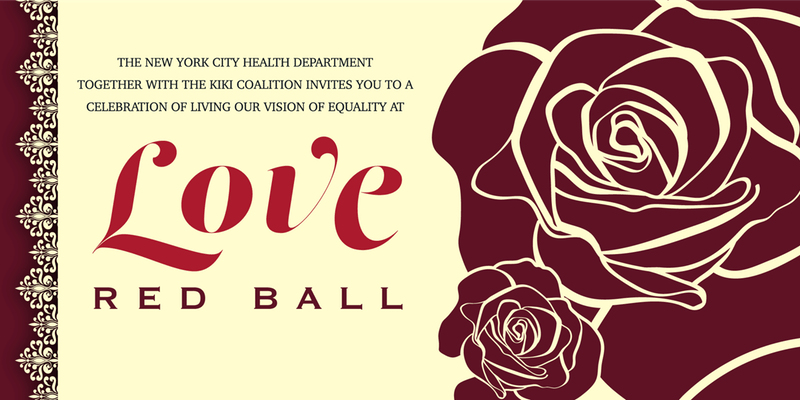 LOVE- RED BALL