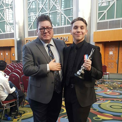 Dave Kraft , Co-Director of InterProd and Summit Debate Online with InterProd alumnus at NSDA Nationals!