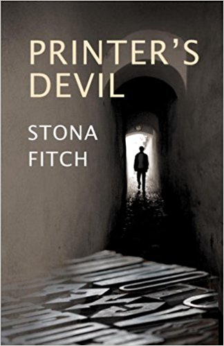 printer's devil, novel, stona fitch, book
