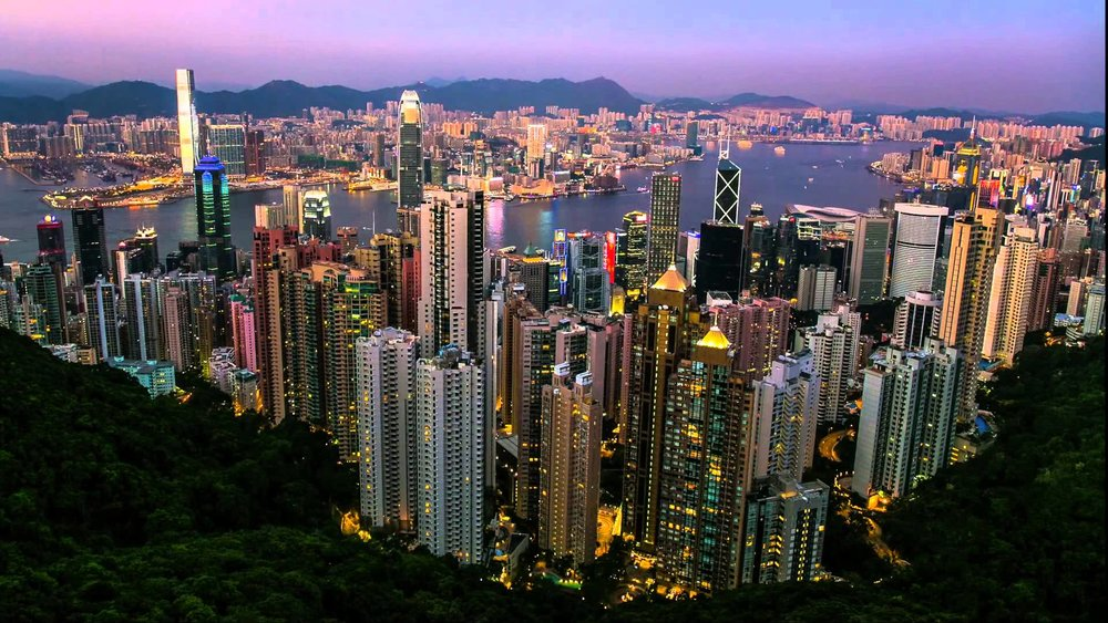 View from Victoria Peak (not taken by me)