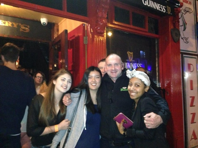 (Dublin) My newfound friends from my solo trip through Europe in 2014