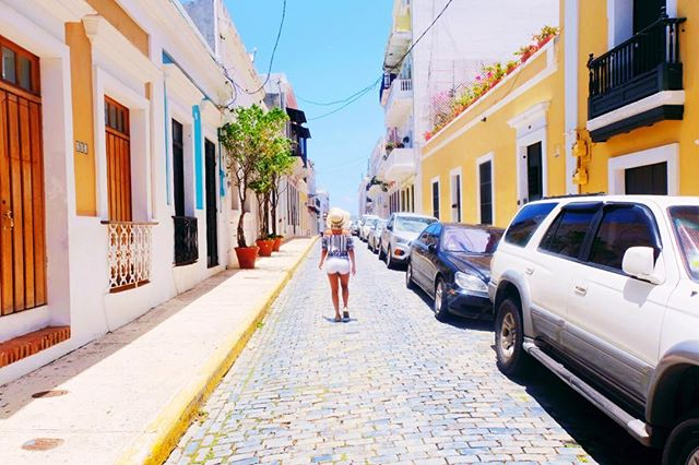 The streets of Old San Juan really DO look like this!