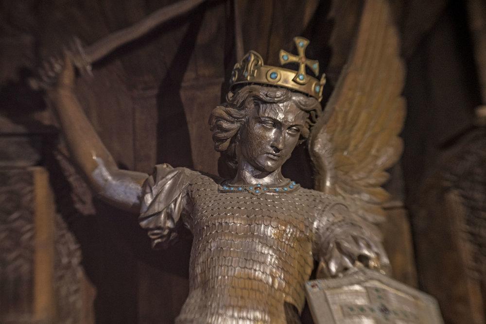 St Michel statue