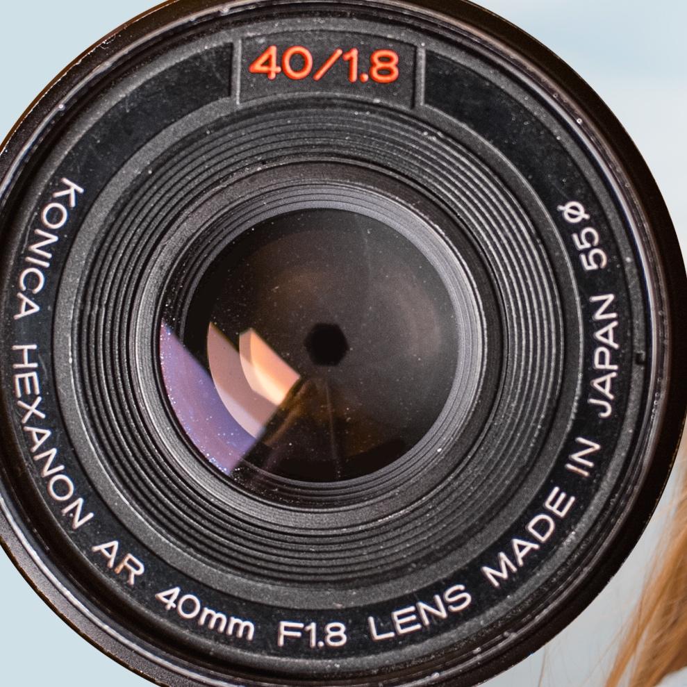KONICA 40MM f1.8