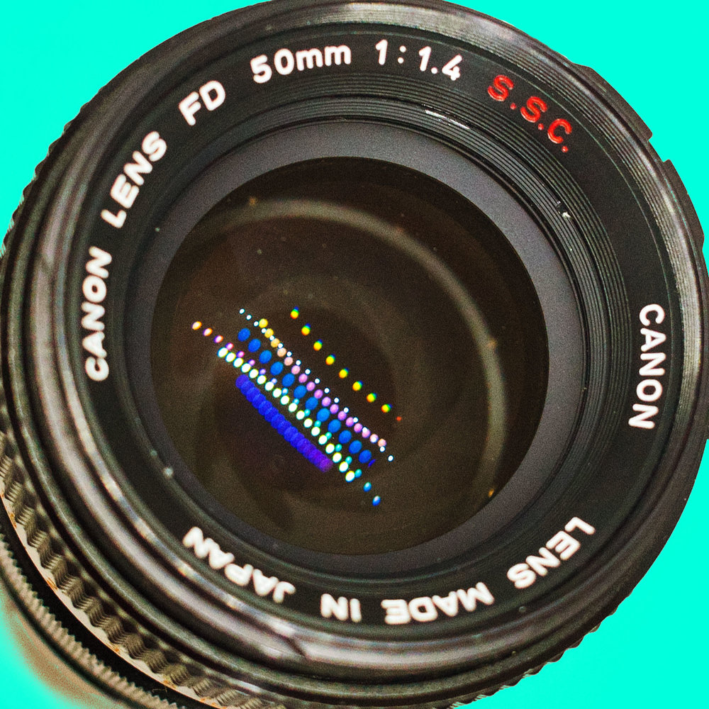 CANON FD 50MM F1.4 SSC