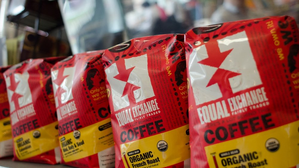 Equal Exchange Coffee available through our  Cross-Docking Service.
