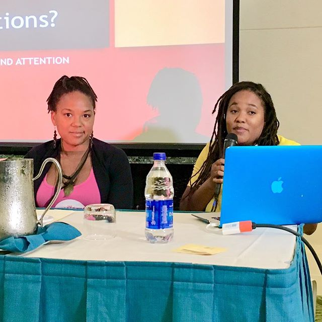 Noelle Nicolls and Orchid Burnside at SeaWords Bahamas Aliv Literary Festival & Writers Conference. #seawordsbahamas #seawords #bahamas #festival #conference #bookworms