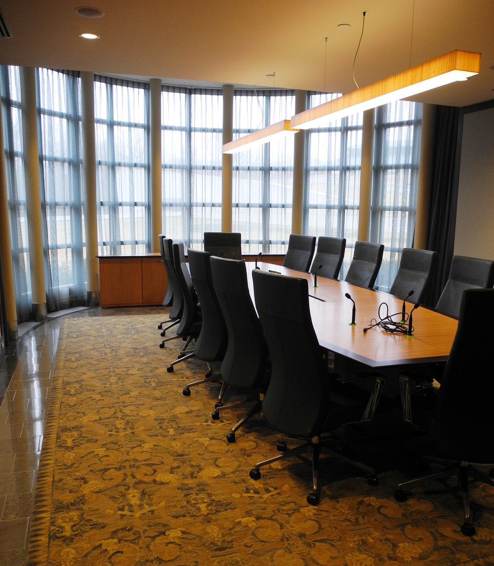 CEO Conference Room Commercial Interior Design