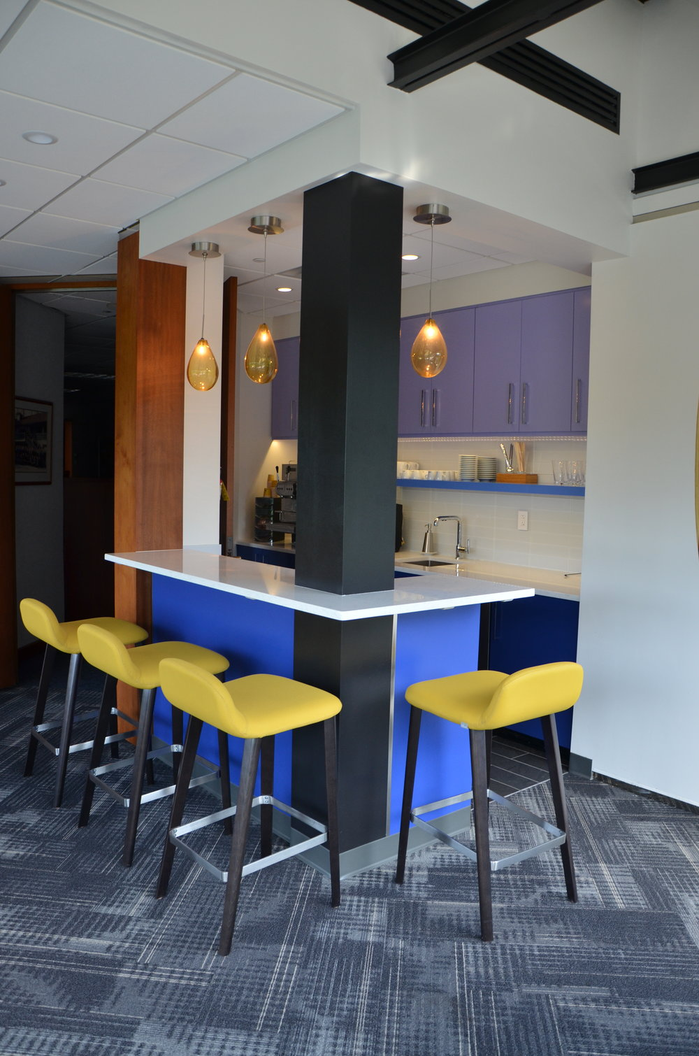 Corporate Cafe and Pantry Interior Design