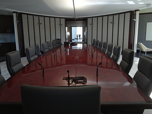 Boardroom Facility Design