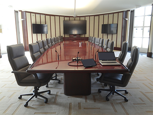 Corporate Boardroom Design