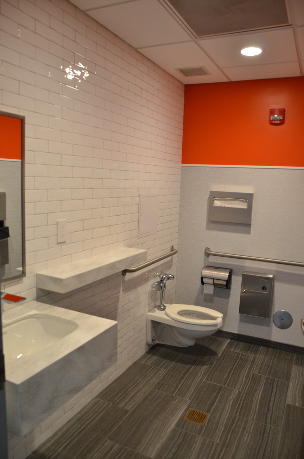 Corporate Bathroom Interior Design and Facility Design