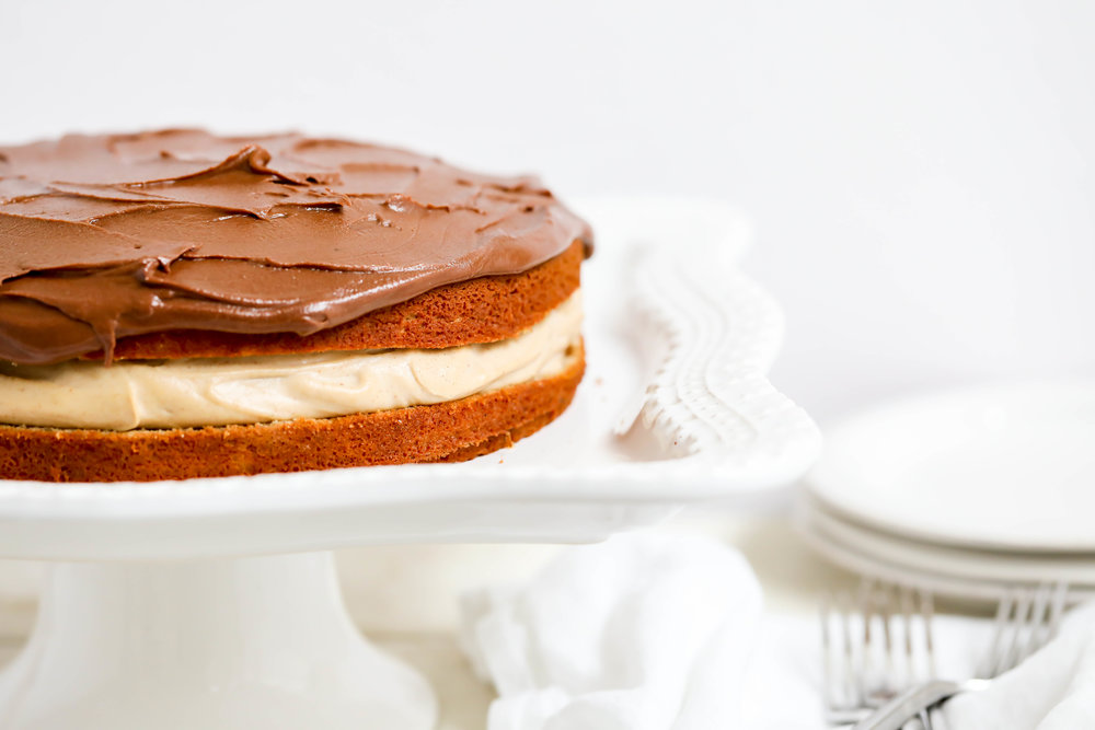 Healthified Boston Cream Pie