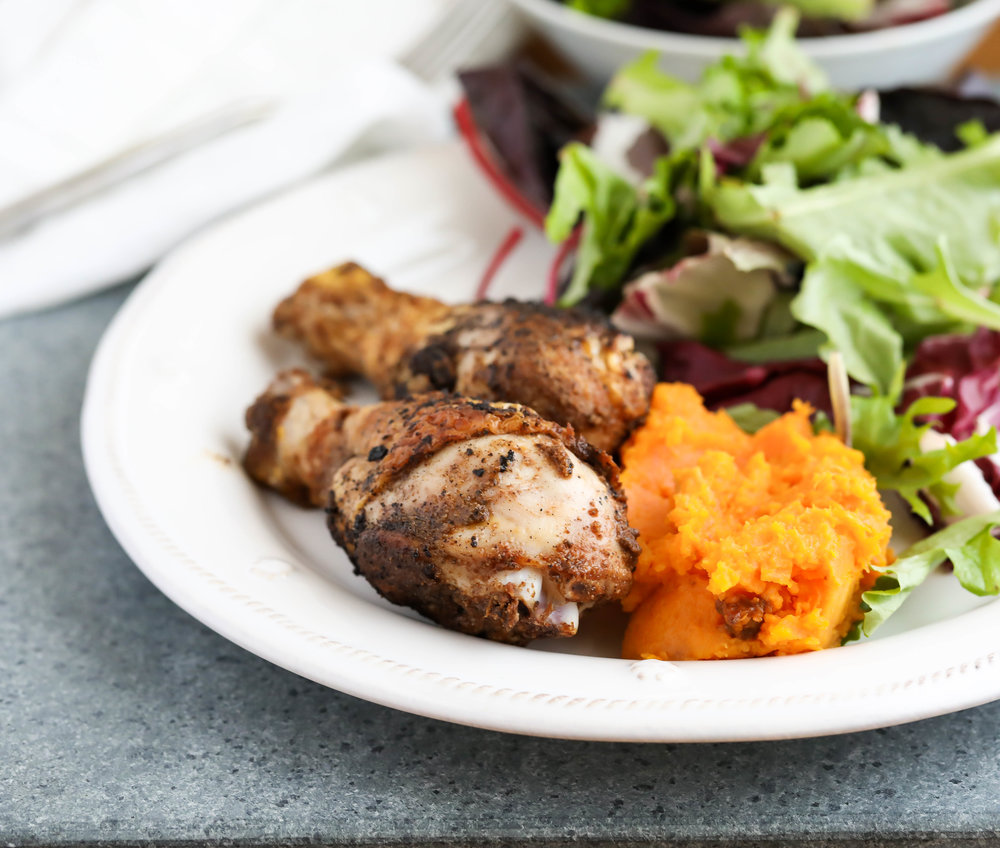 Five-Spice Chicken with Butternut Mash
