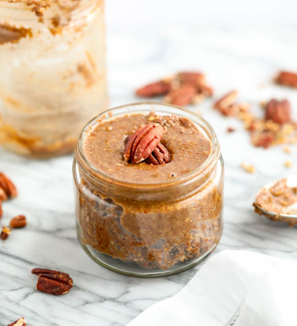 Pumpkin Spiced Pecan Butter