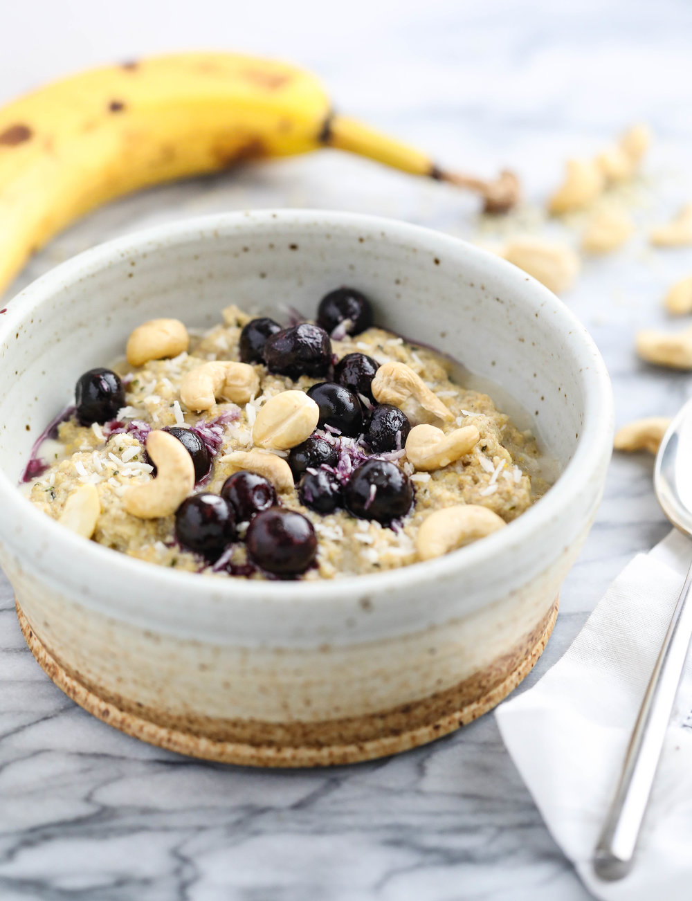 Basic Banana Oatless Oatmeal