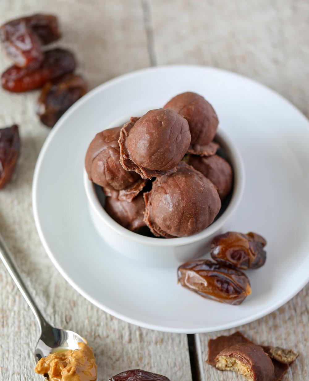 Vegan Chocolate Covered Energy Bites