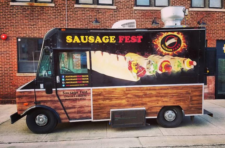 Photo: Sausage Fest