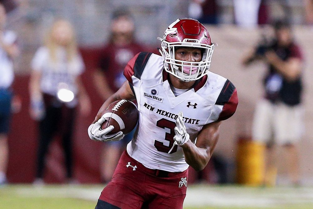 Larry Rose III has been the NMSU star for the past 3 years. (Via underdogdynasty.com)