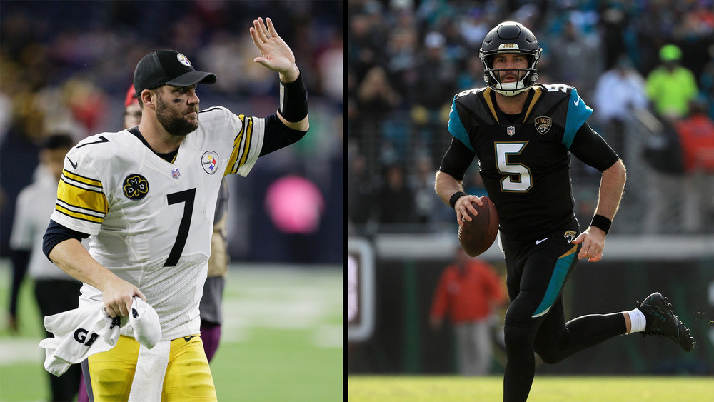 Big Ben vs Blake Bortles will be fun to watch. (via morning24.world)
