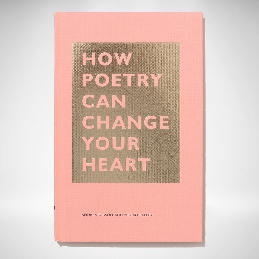 HOW POETRY CAN CHANGE YOUR HEART - AVAILABLE NOW - How can a poem transform a life? Could poetry change the world? In this accessible volume, spoken-word stars Andrea Gibson and Megan Falley roll out the welcome mat and prove that poetry is for everyone. Whether lapsed poetry lovers, aspiring poets, or total novices, readers will learn to uncover verse in unexpected places, find their way through a poem when they don't quite