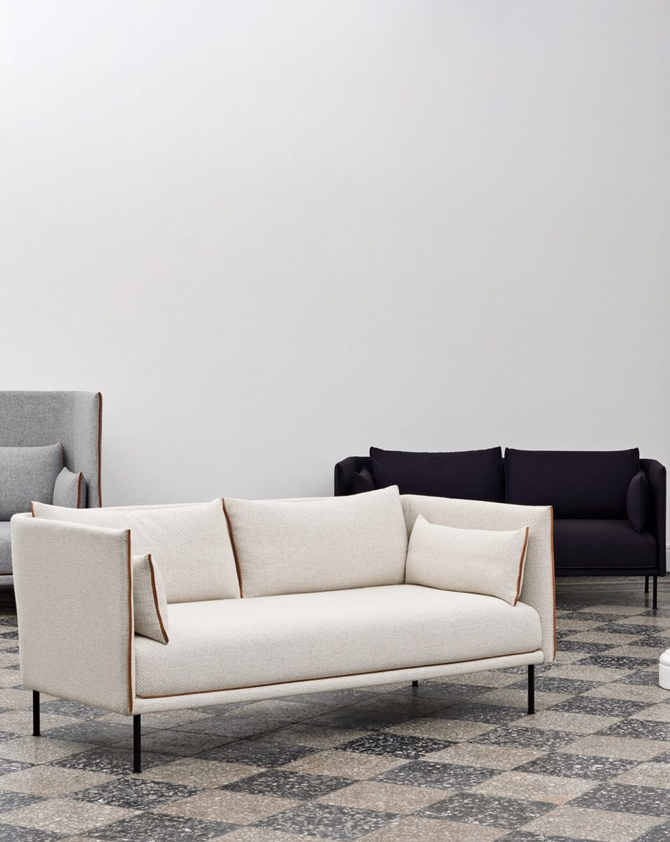 SILHOUETTE Sofa by GamFratesi