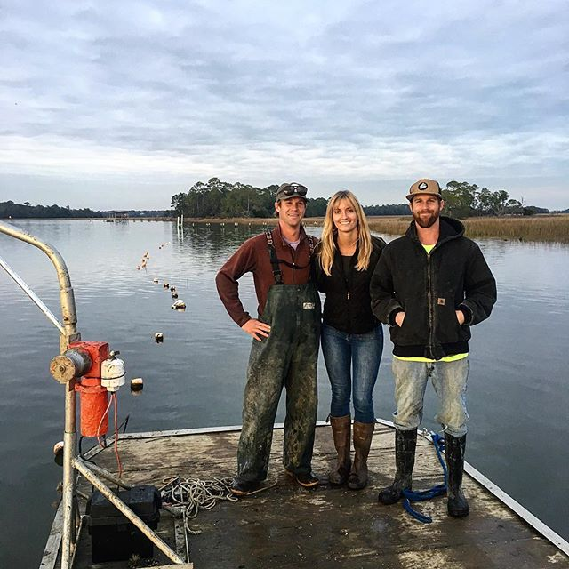 Oysters are more than my business, they're my family! Happy Sunday folks! #doingwhatyoulove #family #familybusiness #oysters #local #sunday #marshlife #charlestonoysterfarm