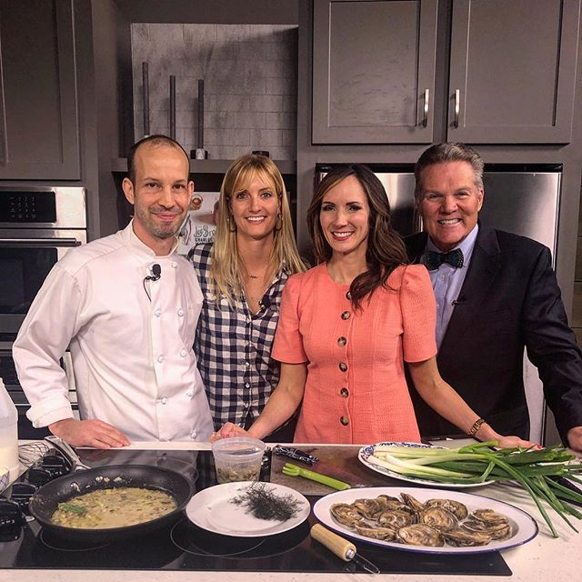 Thanks again @lowcountrylive and @theleebros for hosting us this morning and giving some Lowcountry love to our hand raised,  locally farmed from seed to market Lowcountry oysters! This morning's show was all about the upcoming Southeastern Wildlife Exposition so if you haven't already check out the broadcast and learn all about the upcoming @sewechs events at https://abcnews4.com/lowcountry-live/southeastern-wildlife-expo-02-12-2019