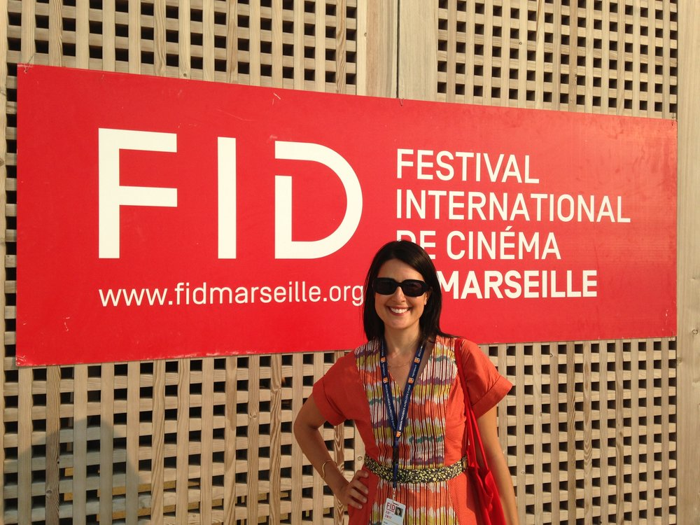 Director Kimi Takesue at FID:Marseille