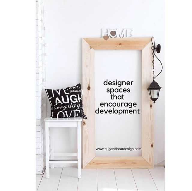 Designers spaces that encourage development. . . #intention #intentionalliving #intentionalparenting #design #children #childdecor #childdevelopment #learnthroughplay #play #playroom