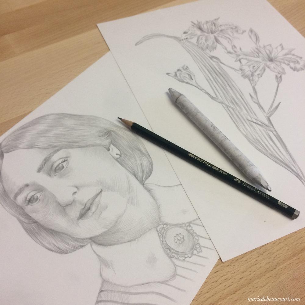 George Sand portrait