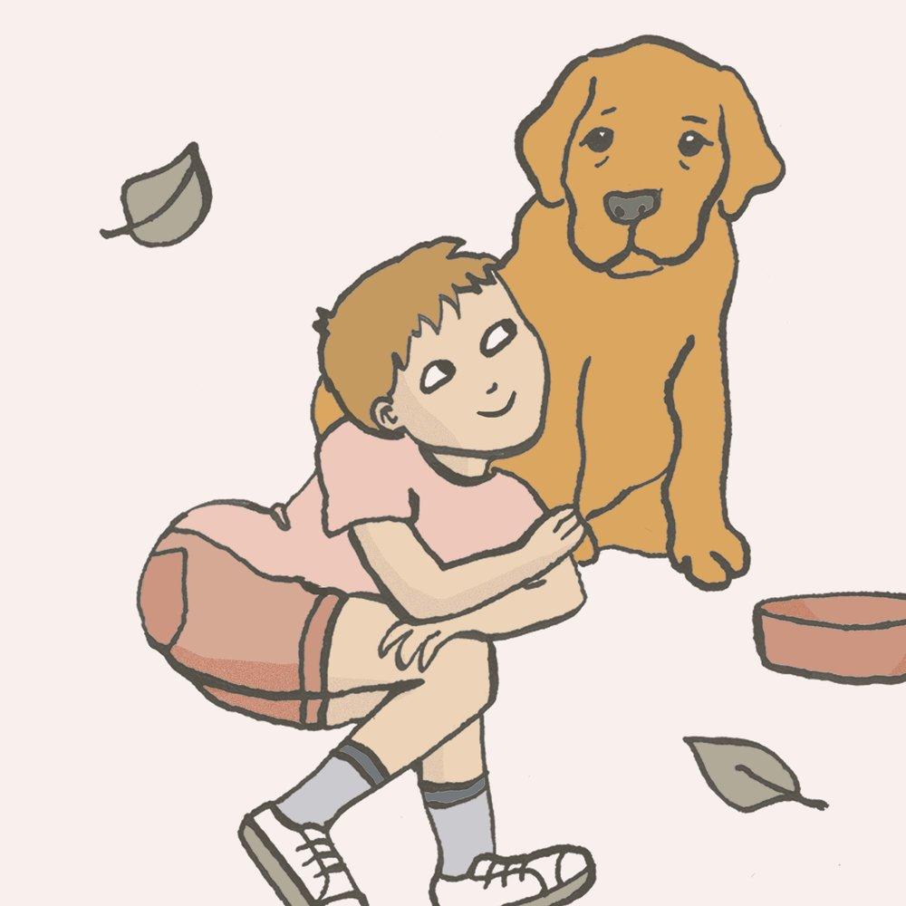 Marie de Beaucourt Illustration spring dog.jpg